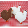 Cookie Cutter Hen, Aluminum