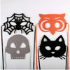 Halloween Felt Masks, 4  Assorted