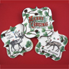 Vintage Christmas Illustrations Wafer Paper