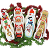 Merry Matryoshka Nesting Dolls Wafer Paper