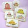 Vintage Sweet Treats Wafer Paper, Set of 18