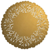 Gold Paper Doilies 4, Package of 20