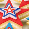Patriotic Stars Sandwich Cookies How-To