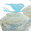 Love Bird Wafer Paper Cupcake How-To