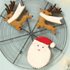 Be Jolly Christmas Cookie Cutters, Set of 2