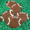 Cookie Cutter Football Copper