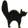 Cookie Cutter Halloween Cat Copper