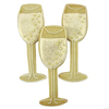 Cookie Cutter Champagne Glass Copper