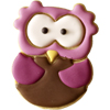 Cookie Cutter Alva Owl, Stainless Steel