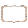Cookie Cutter Fancy Plaque Rectangle  4.25
