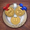 Edible Medals Top Cookie