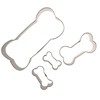 Dog Bone Cookie Cutters, Set of 4