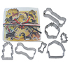 Dog Theme Cookie Cutters, Set of 7