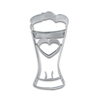 Cookie Cutter Beer Glass Stainless Steel 3