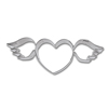 Cookie Cutter Flying Heart Stainless Steel