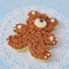 Cookie Cutter Teddy Bear, Tin