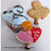 Hammer Song Girl With Valentine Cookie Cutter