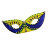 Cookie Cutter Mardi Gras Mask, Set of 2 Tin