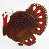 Giant Turkey Cookie Cutter, 7.5