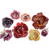 Sugared Edible Roses, Set of 10