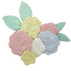SALE! Karen Davies Crochet Flower & Leaf Mold