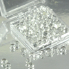 Edible Diamond Droplets Sugar Cake Jewels, CLEAR 64/PKG