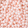 3mm Sugar Pearls Pale Pink Pearlized, 5 oz jar