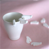 Gourmet Japanese Sugar Cup Hugger Angel Wings