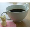 SALE!  Gourmet Japanese Sugar Cup Hugger Neko Cat