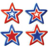 Sugar Stars Patriotic Assortment Large, Set of 8