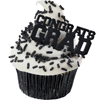 Congrats Grad Cupcake Picks, Set of 12