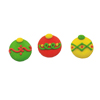 Icing Christmas Ornaments Large, Set of 12