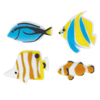 Sugar Reef Fish Assortment, Set of 12