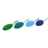 Peacock Sanding Sugar Collection, Set of 4