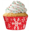 Muffin Cup Snowflakes, PKG of 32
