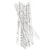 Birch Paper Straws, Package of 25