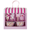 Cupcake Kit Baby Pink Set of 24 Liners & Picks