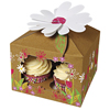 Little Garden Large Cupcake Boxes Large, Set of 3