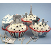 Cupcake Kit Oh Paris Set of 24 Liners & Picks