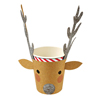 Reindeer Party Cups, Set of 12