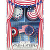 Cupcake Kit Stars & Stripes Set of 24 Cupcake Liners Picks
