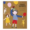 Toot Sweet Children Balloon Holders, Set of 8