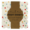 Toot Sweet Spotty Small Napkins, Set of 20