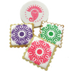 Mehndi  Cookie Stencil, Set of 2