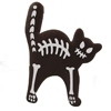 Halloween Cat Skeleton Cookie Stencil