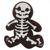 Running Gingerbread Skeleton Cookie Stencil