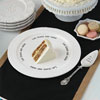 Let Them Eat Cake -- Plate & Server Set