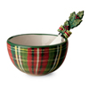 Classic Check Bowl & Speader Set