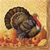 Harvest Turkey Napkin Luncheon Napkins