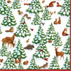 Woodland Wonderland Paper Luncheon Napkins